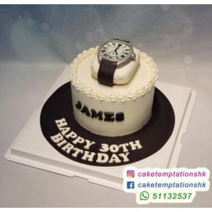 Your own watches cake
